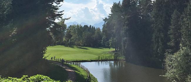 Golfen in Südtriol, Golfclub Petersberg, golf-womo.de, Golfurlaub mit dem Wohnmobil
